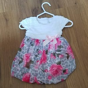 Cute floral baby dress